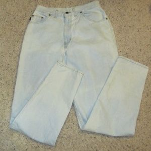 Vintage acid wash chic jeans size 10 Avg womens